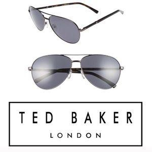 NWT Ted Baker London 62mm Aviator Sunglasses